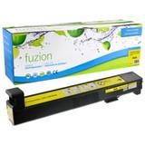 Fuzion - HP CB382A Colour LaserJet CP6015 Toner - Yellow Remanufactured