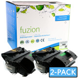 Fuzion - HP CE390X 90X Toner (Twin Pack) - Black New Compatible