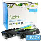 Fuzion - HP Q5942A LaserJet Toner (Twin Pack) - Black New Compatible