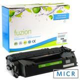 Fuzion - HP Q7553X LaserJet P2015 High Yield MICR Toner - Black Remanufactured
