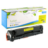 Fuzion - HP Colour CB542A Toner - Yellow Remanufactured 125A
