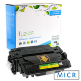 Fuzion - HP CE255X High Yield MICR Toner - Black Remanufactured