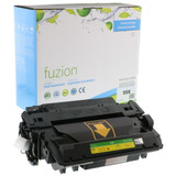 Fuzion - HP CE255X High Yield Toner - Black New Compatible
