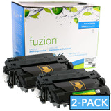 Fuzion - HP CE255X HY Toner - MPS Twin Pack - Black New Compatible