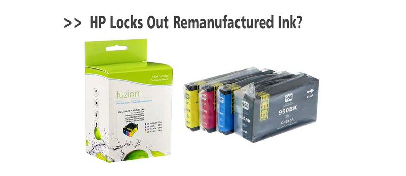 Latest HP Firmware update locks out remanufactured ink cartridges