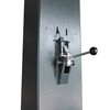 Stratus Single Piece Column Clear Floor Direct Drive 11,000 lbs Capacity Single Point Manual Release Lift SAE-C11S