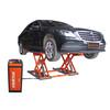 Stratus Commercial Grade Open Center Portable Mid Rise Electric Safety Lock  Release Scissor Lift SAE-MS8000X