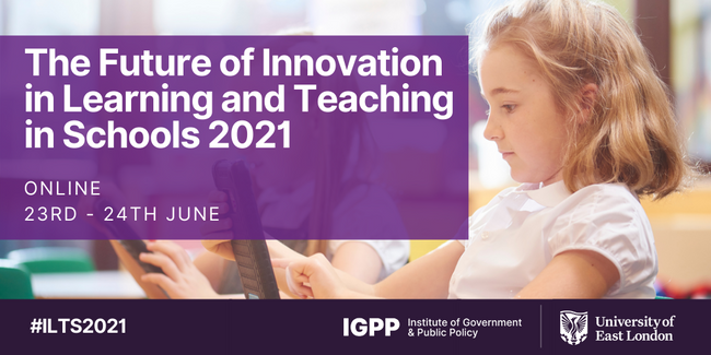 Key Address at The Future of Innovation in Learning and Teaching in Schools 2021