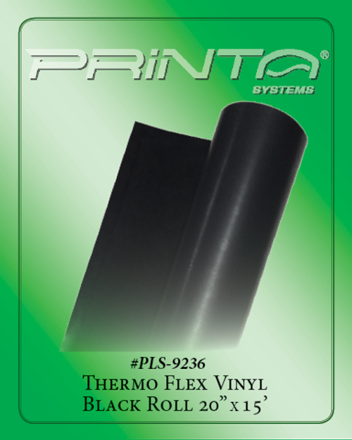 BLACK VINYL Vinyl for Heat Press