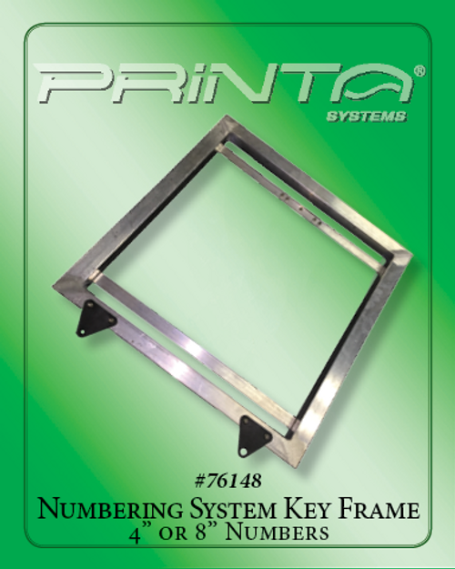 """KEY FRAME FOR 4"""" OR 8"""" ATHLETIC NUMBERING SYSTEMS Athletic Numbering System"""