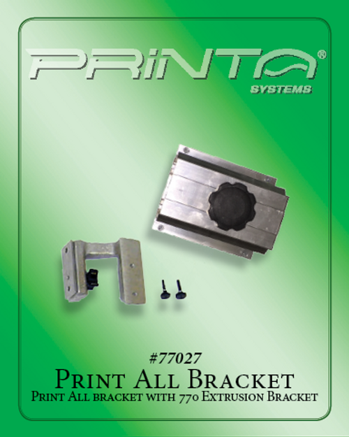 PRINT ALL BRACKET Screen Printing Platens