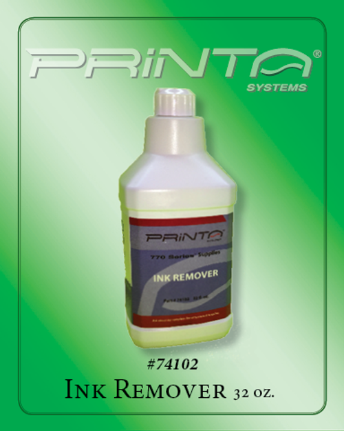 INK REMOVER, 32 OZ 770 Series Screen Printing Chemicals