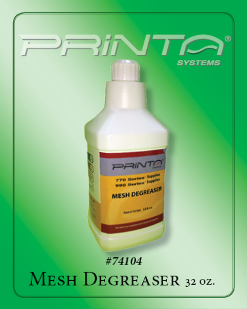 DEGREASER, 32 OZ. 770 Series Screen Printing Chemicals