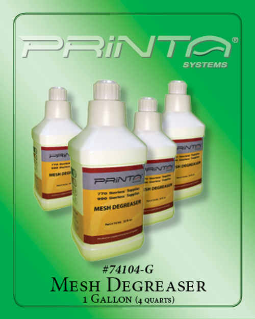 DEGREASER, GALLON 770 Series Screen Printing Chemicals