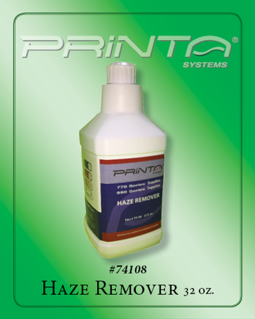 HAZE REMOVER, 32 OZ. 770 Series Screen Printing Chemicals