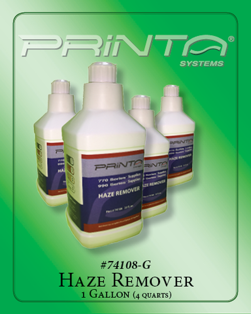 HAZE REMOVER-GALLON 770 Series Screen Printing Chemicals