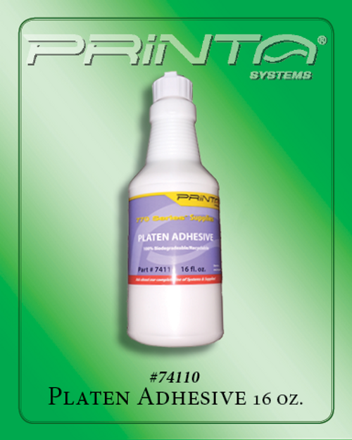 PLATEN ADHESIVE, 16 OZ. 770 Series Screen Printing Chemicals