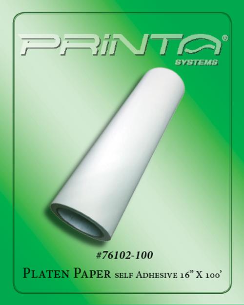 "PLATEN PAPER, 16"" X  100 YDS. 770 Series Tape & Adhesives"