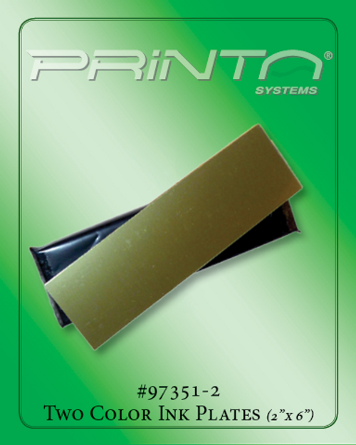 PRINTING PLATES, 2 COLOR 990 Series Additives