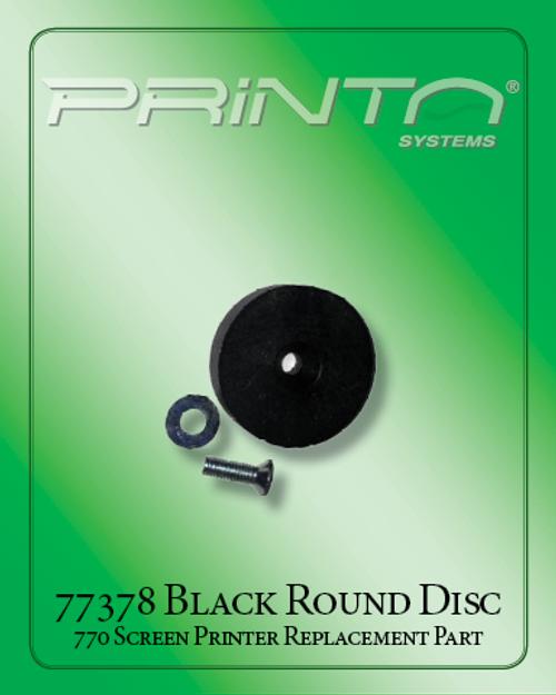 BLACK ROUND DISC