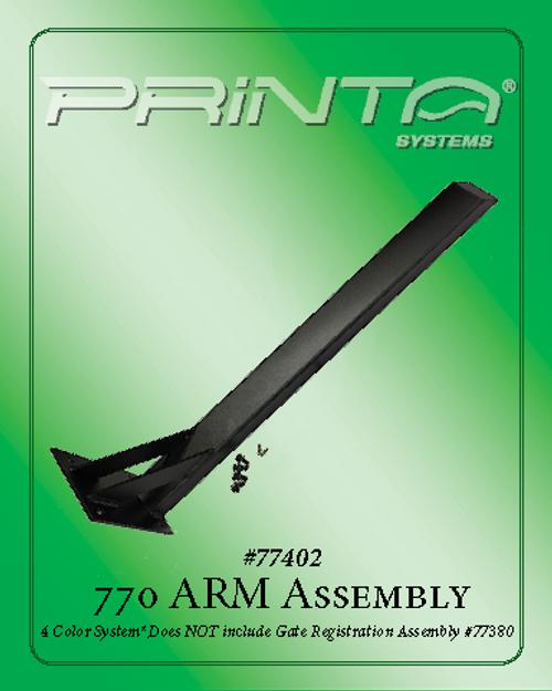 Four Color 770 Arm Assembly