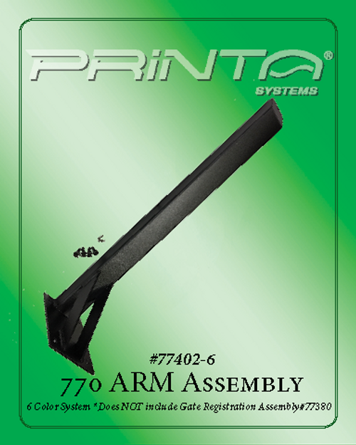 Six Color 770 Arm Assembly Arm Assembly