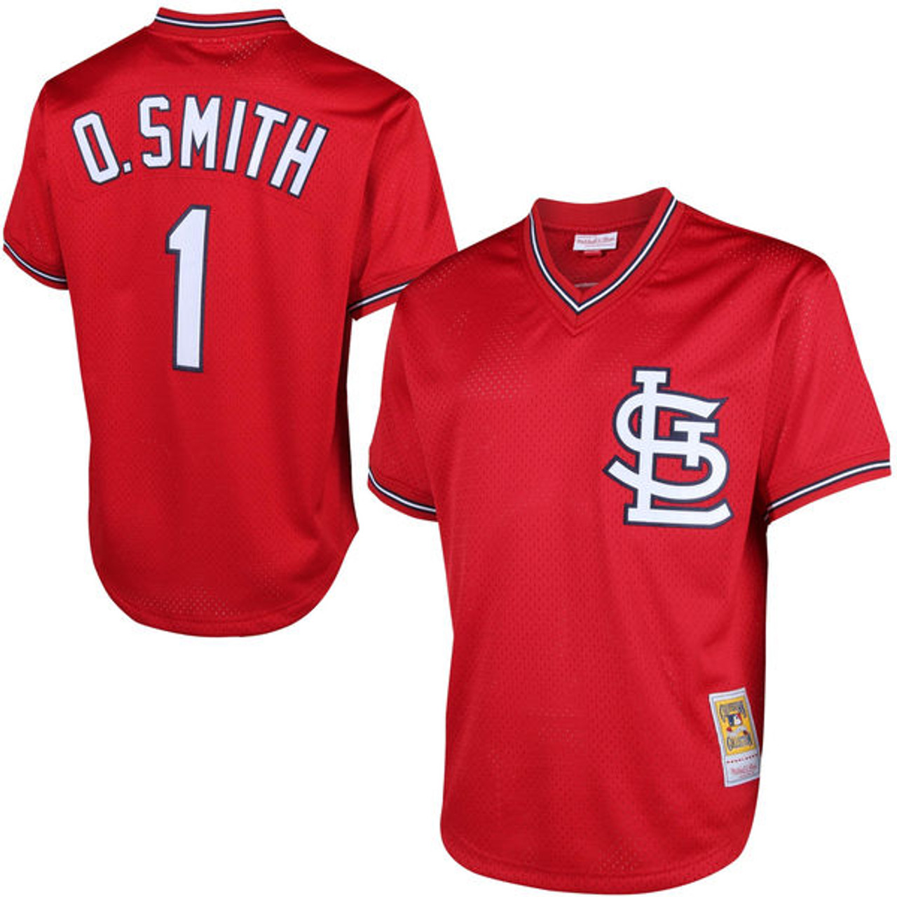 1996 SPx #48 Ozzie St Louis Cardinals béisbol tarjeta Smith