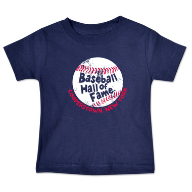 Toddler Baseball Hall of Fame Navy Baseball T-Shirt