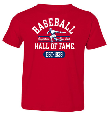 Toddler Baseball Hall of Fame Red State Champ T-Shirt