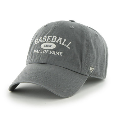 Men's '47 Brand Baseball Hall of Fame Gray Established Arch Adjustable Cap