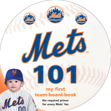 New York Mets 101 Baby Board Book