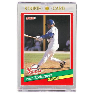Ivan Rodriguez Texas Rangers 1991 Donruss Rookies # 33 Rookie Card