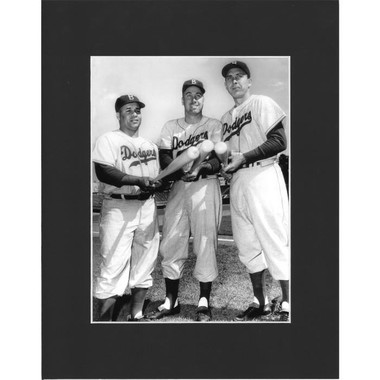 Matted 8x10 Photo- Campanella, Snider & Hodges