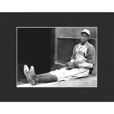 Matted 8x10 Photo- Satchel Paige