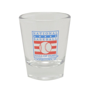Baseball Hall of Fame Logo Shot Glass