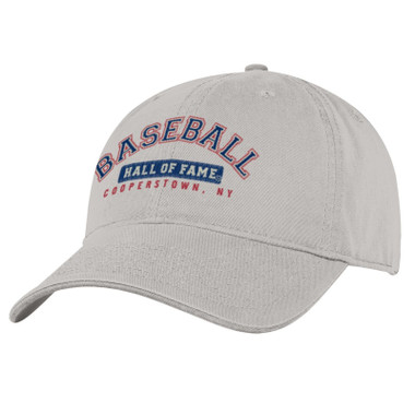 Men's Baseball Hall of Fame Stone Wordmark Adjustable Cap