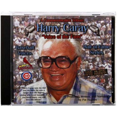 Baseball Voices: Harry Caray, Voice of the Fans Audio CD