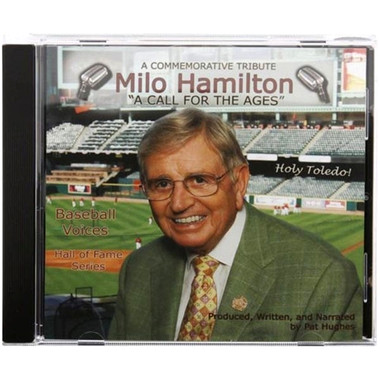 Baseball Voices: Milo Hamilton, A Call for the Ages Audio CD