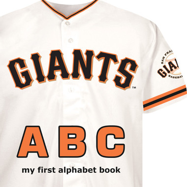 San Francisco Giants ABC Baby Board Book