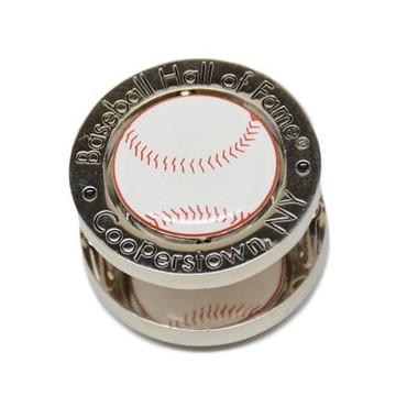 Baseball Hall of Fame Baseball Spinner Magnet