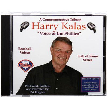 Baseball Voices: Harry Kalas, Voice of the Phillies Audio CD