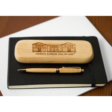 Hall of Fame Engraved Wooden Pen and Case