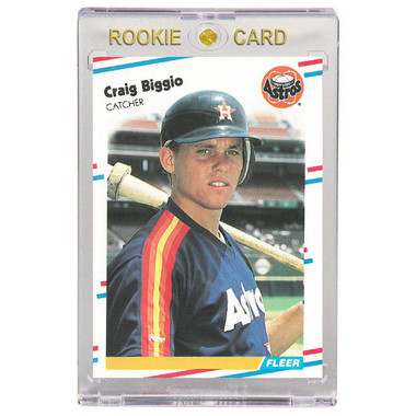 Craig Biggio Houston Astros 1988 Fleer Update # 89 Rookie Card