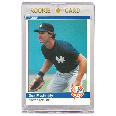 Don Mattingly New York Yankees 1984 Fleer # 131 Rookie Card