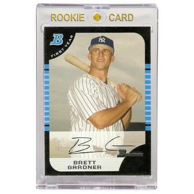 Brett Gardner New York Yankees 2005 Bowman # 85 Rookie Card