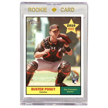 Buster Posey San Francisco Giants 2010 Topps Heritage # 144 Rookie Card