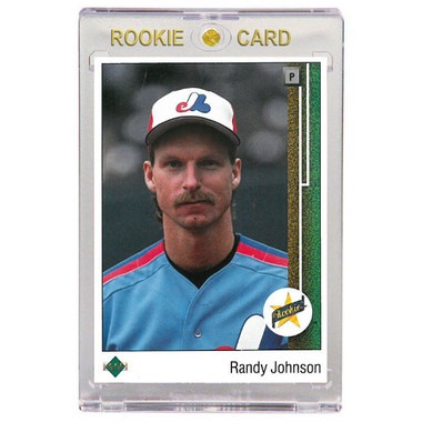 Randy Johnson Montreal Expos 1989 Upper Deck # 25 Rookie Card