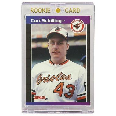 Curt Schilling Baltimore Orioles 1989 Donruss # 63 Rookie Card