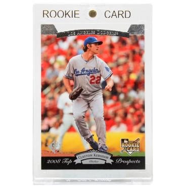 Clayton Kershaw Los Angeles Dodgers 2008 Upper Deck Timeline # 187 Rookie Card