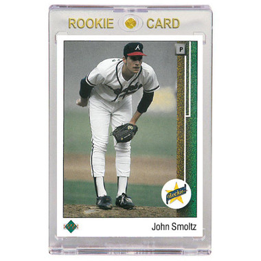 John Smoltz Atlanta Braves 1989 Upper Deck # 17 Rookie Card